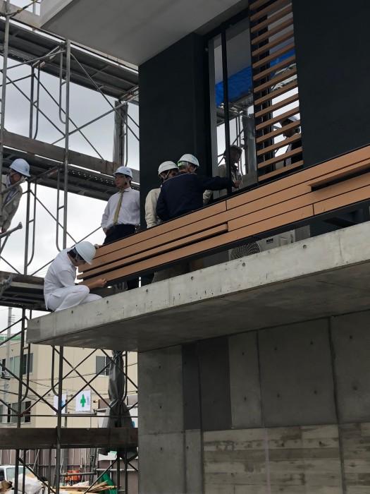 新棟建設工事の進捗状況