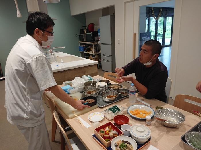 かま田&給食室コラボメニュー